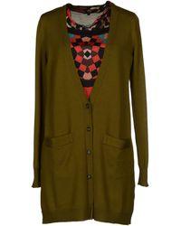 Just Cavalli Green Sweater - Lyst