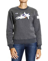 Iceberg Sweater Fleece Crewneck Print Nacelle - Lyst