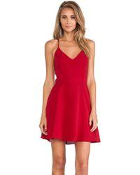 Line & Dot Blonde Ambition Mini Dress - Lyst
