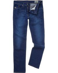 Diesel Darron 607i Rinse Regular Slim Fit Jeans - Lyst