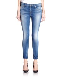 7 For All Mankind Skinny Ankle Jeans - Lyst