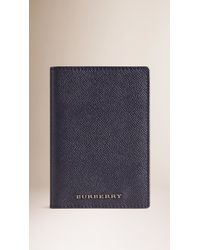 Burberry Sport - London Leather Passport Cover - Lyst