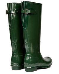 Hunter Original Adjustable Gloss Wellington Boots - Lyst