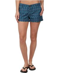 The North Face Blue Maywood Short - Lyst