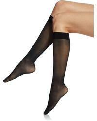 Donna Karan New York Micro Massaging Knee Highs - Lyst