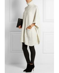 Alice By Temperley - Lori Chunky-Knit Poncho - Lyst