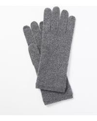 Ann Taylor Cashmere Short Gloves - Lyst