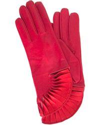 Thomasine Gloves | Paris Glove Sun Fan Wrist Red | Lyst