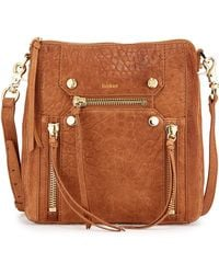 Botkier Logan Zipper-Detail Messenger Bag - Lyst