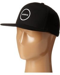 Nixon Station Snap Back Hat - Lyst