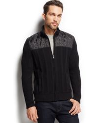 Inc International Concepts Gray Collage Jacket - Lyst