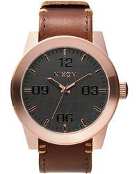 Nixon Corporal Stainless Steel Watch - Lyst