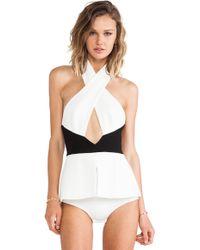 AQ/AQ - Karlie Bodysuit - Lyst