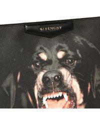 Givenchy Antigona Large Rottweiler Print Zip Pouch - Lyst