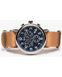 Need Supply Co. - Weekender Chrono In Navy - Lyst