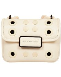 Marc By Marc Jacobs Rebel Grommets Bag In Leche pink - Lyst