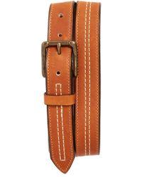 Bills Khakis - Baseball Glove Leather Belt - Lyst