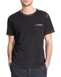 Rag & Bone Garment-Print Cotton T-Shirt - Lyst