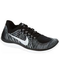 Nike Free 4.0 Flyknit Running Shoe - Lyst