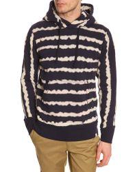 G-Star RAW Mn Cloud Marc Newson Blue Print Sweater - Lyst