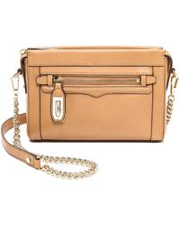 Rebecca Minkoff Mini Crosby Cross Body Bag  Fatigue - Lyst