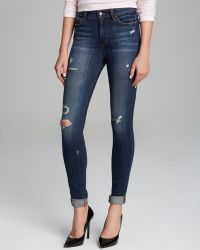 Joe's Jeans High Rise Skinny in Riri - Lyst