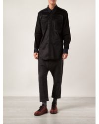 Ann Demeulemeester Button Up Shirt - Lyst