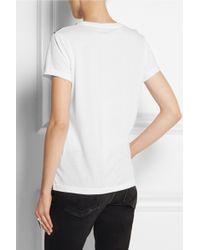 Dagmar - Face Printed Cotton-Jersey T-Shirt - Lyst