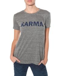 Textile Elizabeth And James Karma Tee - Lyst