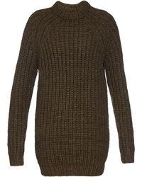 NLST - Fisherman Wool Jumper Dress - Lyst