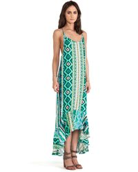 Tylie Mayan Maxi Dress - Lyst