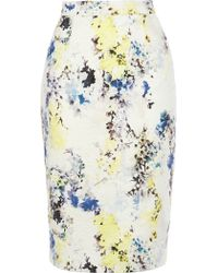Coast Connelly Printed Skirt multicolor - Lyst