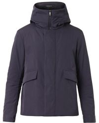 Jil Sander Hooded Technical Coat - Lyst