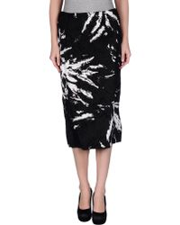 Miu Miu 3/4 Length Skirt - Lyst