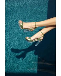 Palter Deliso - Athena Sandal in Palm - Lyst