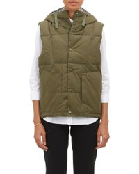 Engineered Garments | Hooded Puffer Vest | Lyst