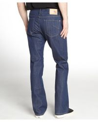 James Jeans - Revel Blue Denim Straight Leg Jeans - Lyst