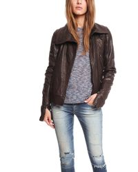 Hussein Chalayan Nappa Leather Jacket - Lyst