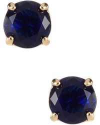 Kate Spade Rhinestone Stud Earrings - Lyst