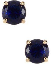 Kate Spade Rhinestone Stud Earrings - Lyst