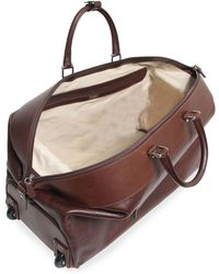 T. Anthony | Two-wheel Leather Carryon Duffel Bag | Lyst
