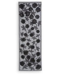 Armani Floral Scarf - Lyst