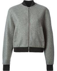 Balenciaga Bomber Style Jacket - Lyst