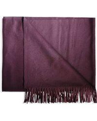 Acne Studios Oblong Scarf purple - Lyst