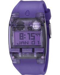 Nixon The Comp S purple - Lyst