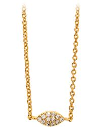 Gorjana & Griffin Shimmer Marquee Necklace - Lyst
