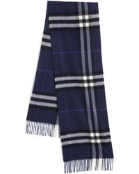 Burberry Giant Icon Cashmere Scarf - Lyst