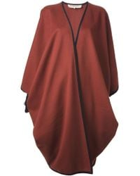 Yves Saint Laurent Vintage Oversized Cape Coat - Lyst
