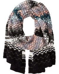 Missoni Multicolor scarves - Lyst