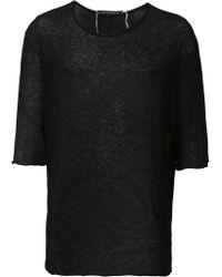 Cedric Jacquemyn - Basic Long-sleeved T-shirt - Lyst